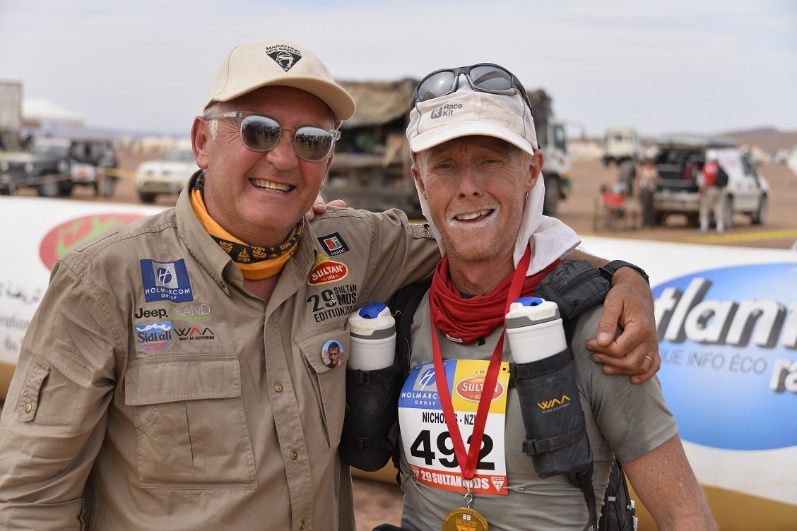 American University of Sharjah Nicholas Ashill Runs USA ROUTE 66 from Los Angeles to New York MDS Finish Line.jpg