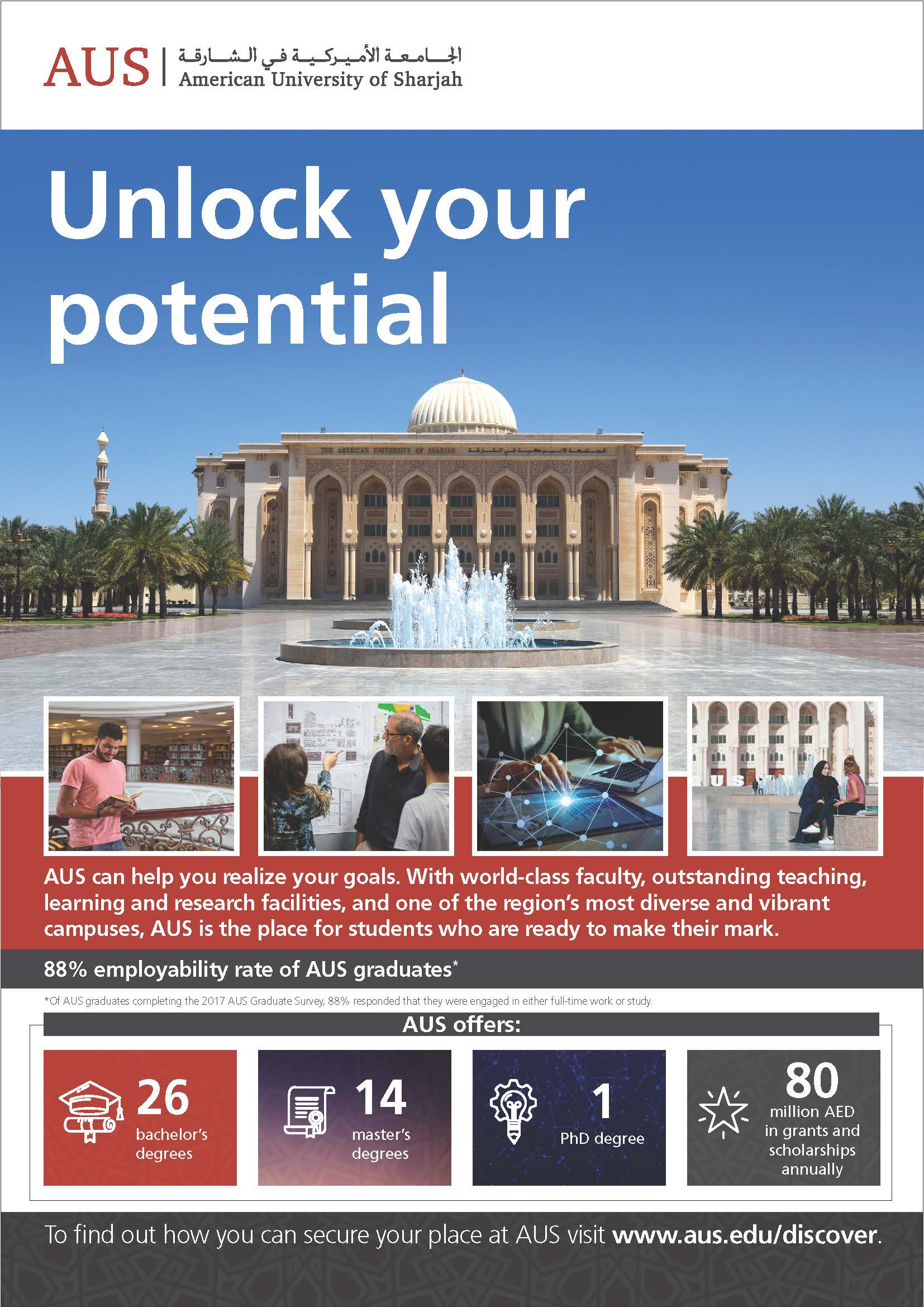 American University of Sharjah A Place for Potential-1