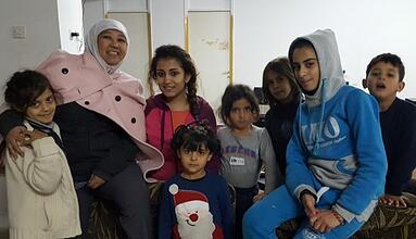 AUS Faculty Volunteer in Refugees Camps in Greece (21).jpg