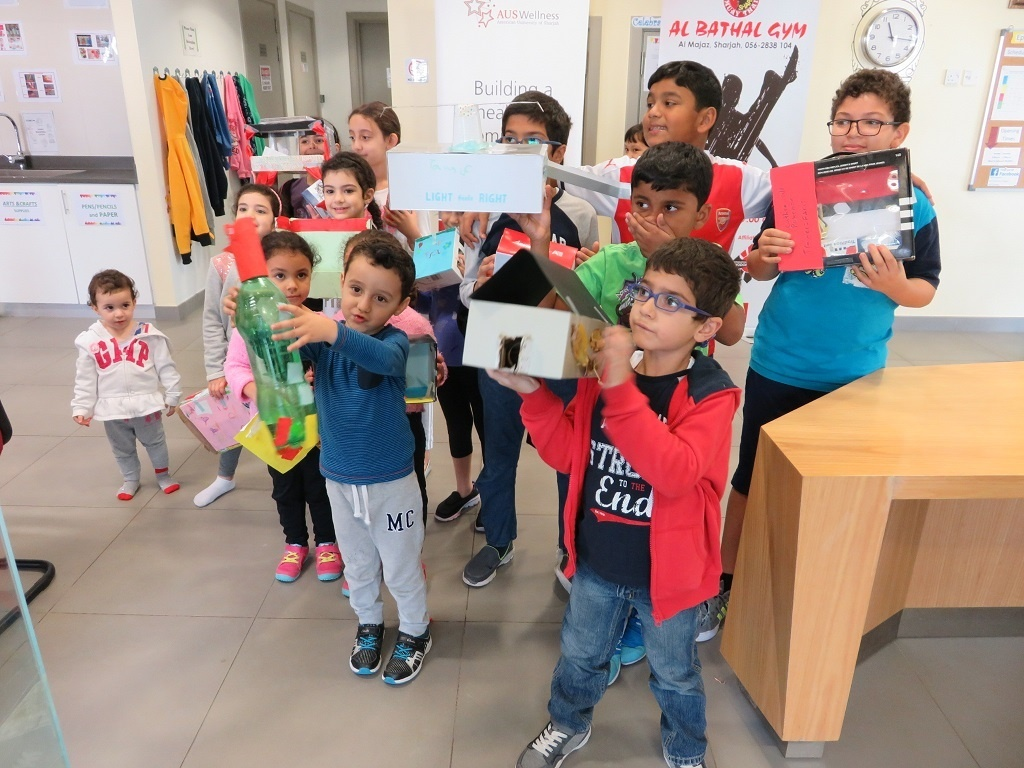 American University of Sharjah Children Recycling 1.jpg