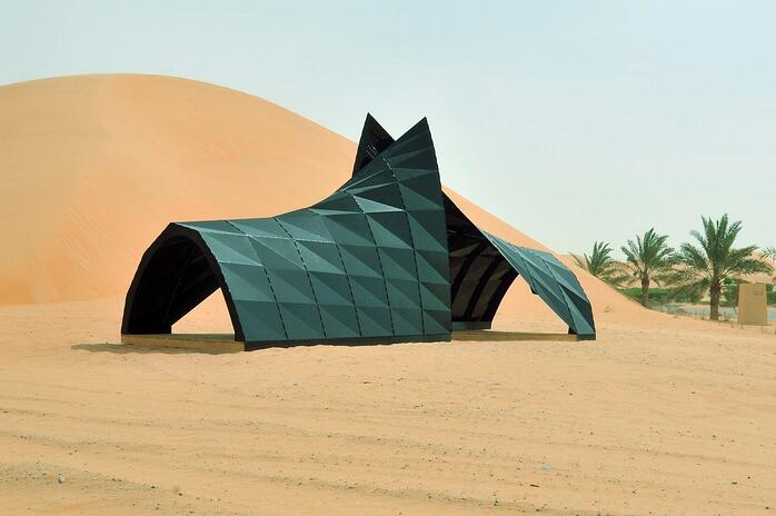 American University of Sharjah Christo and Jeanne-Claude Award-Winning Sculpture (1).jpg