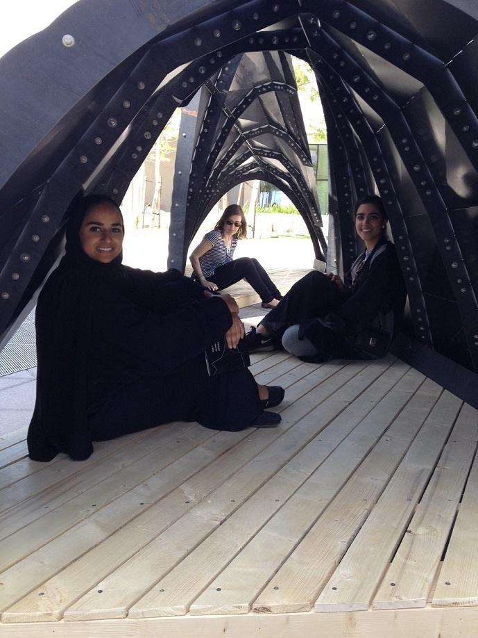American University of Sharjah Christo and Jeanne-Claude Award-Winning Sculpture (2).jpg