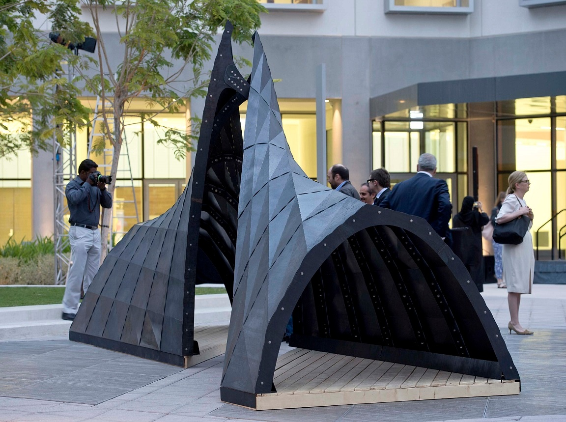 American University of Sharjah Christo and Jeanne-Claude Award-Winning Sculpture (3).jpg