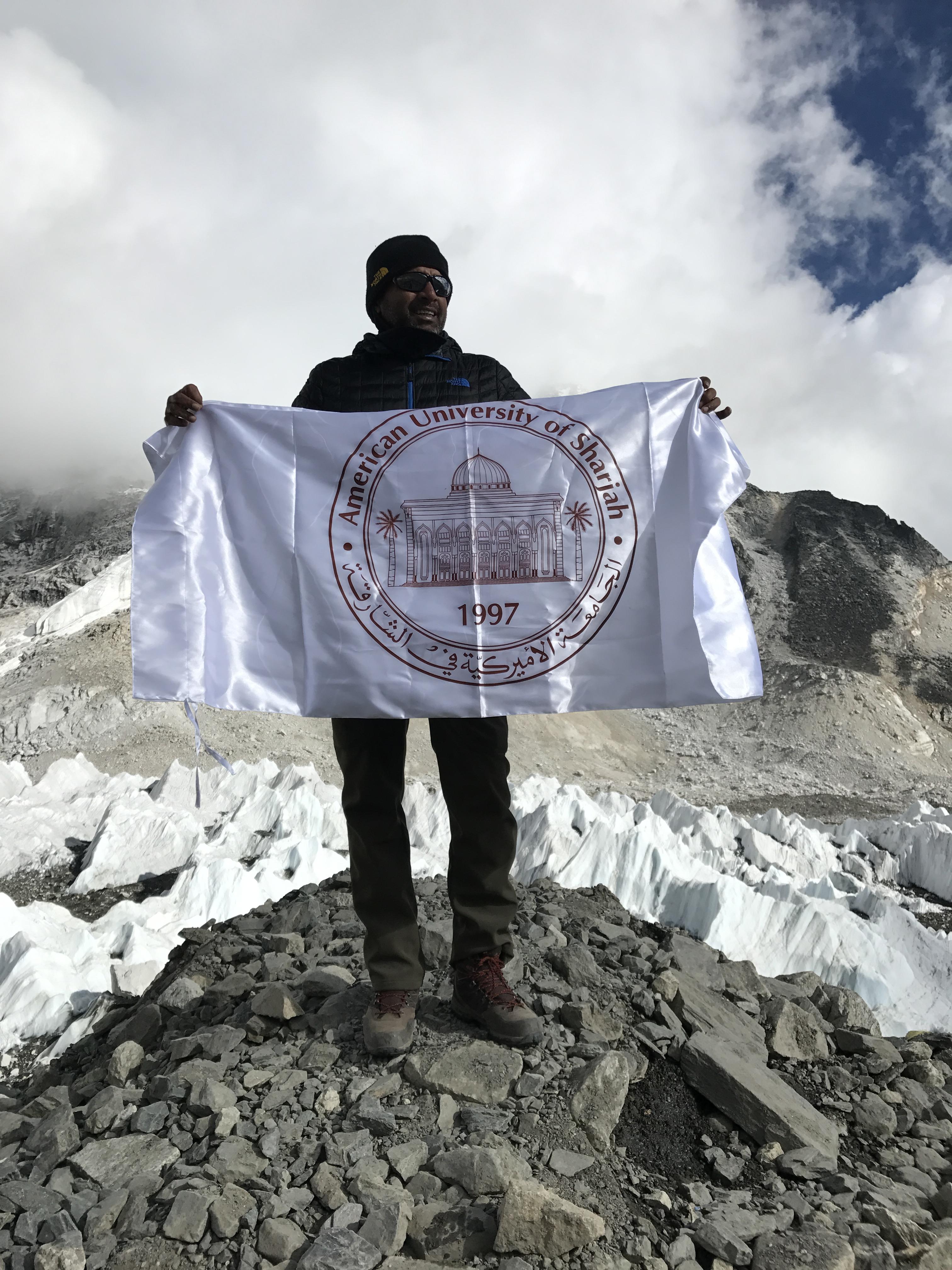 American University of Sharjah AUS Worker Treks Mount Everest Base Camp (1).jpg