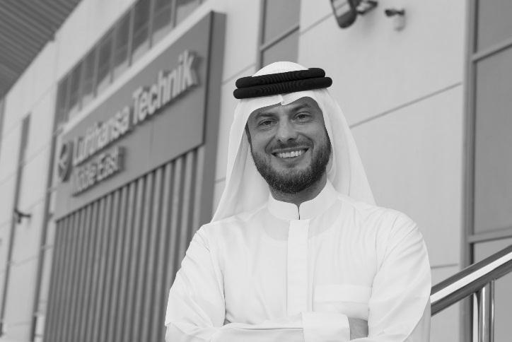 American University of Sharjah Ziad Al Hazmi, CEO, Lufthansa Technik .jpg